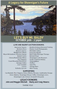 Mt Baldy Sponsor Card