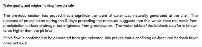 Lowen - groundwater