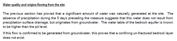 Lowen - groundwater