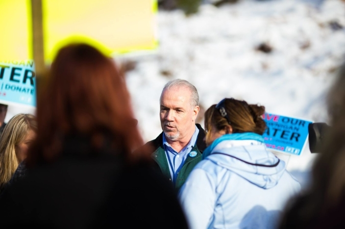 horgan at protest